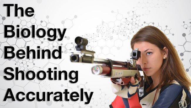 Có thể mắt thuận và tay thuận cầm súng của bạn khác phía nhau.