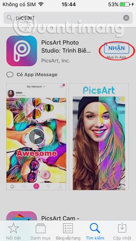 Cài đặt ứng dụng iPhone/iPad
