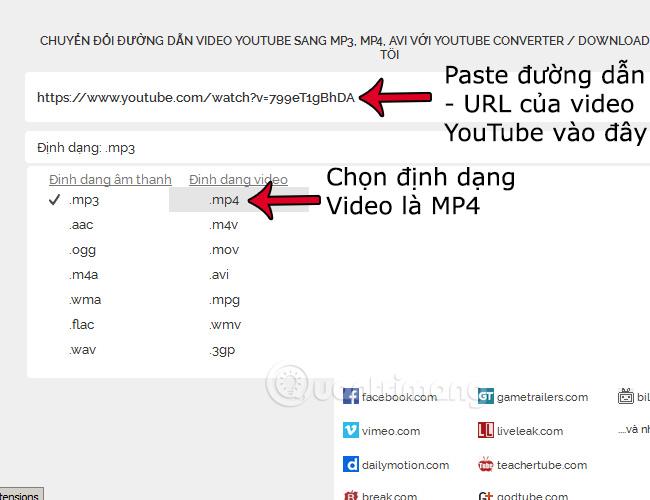 Hướng dẫn tải nhạc mp3 YouTube không cần phần mềm - Quantrimang com