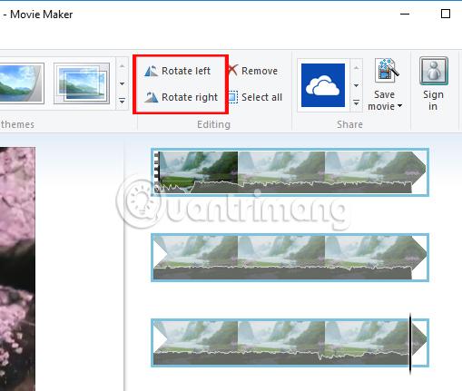 Cách xoay video bị ngược, nghiêng bằng Windows Movie Maker