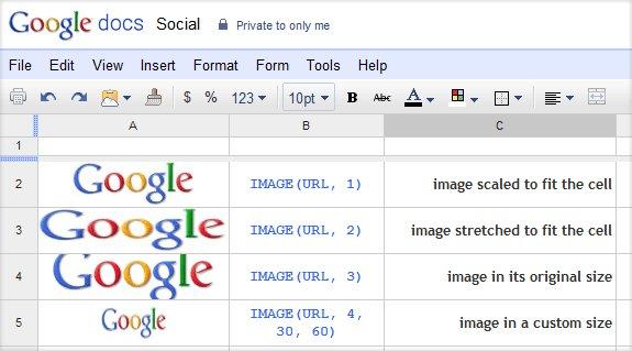 10 thủ thuật và mẹo trong Google Spreadsheet