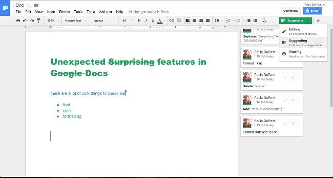 40+ mẹo trong Google Docs (P1)