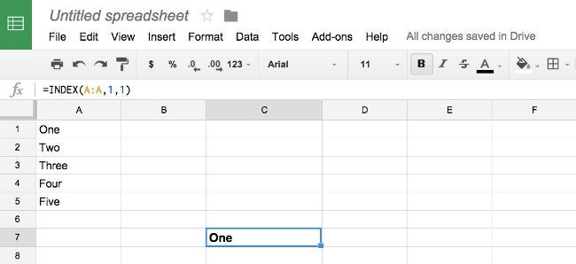 6 hàm hữu ích trong Google Sheets có thể bạn chưa biết