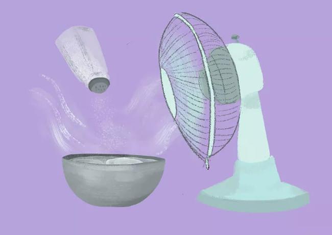 Tự chế máy điều hòa không khí mini