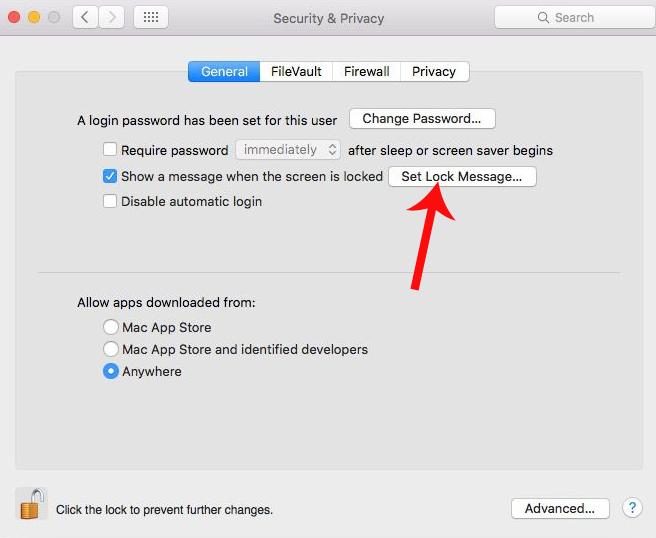 Hướng dẫn cách tùy biến màn hình khóa trên MacBook
