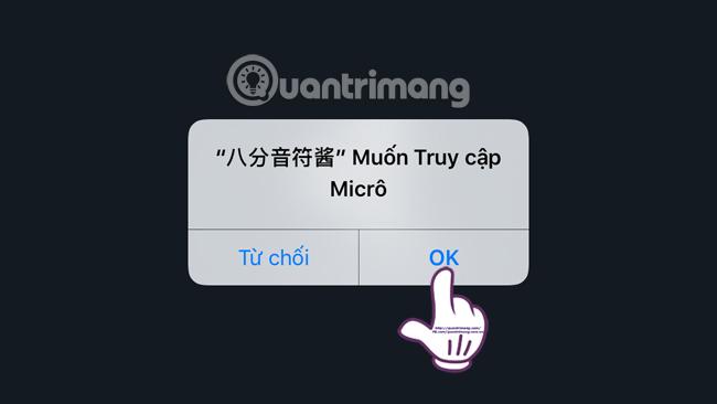 Nốt thứ tám sử dụng Micro