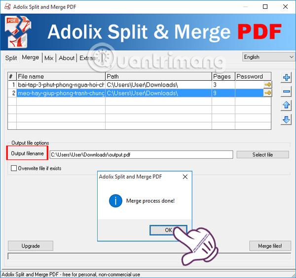 Hướng dẫn ghép nhiều file PDF thành một file PDF - Ảnh minh hoạ 6