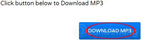 Nhấn Download MP3