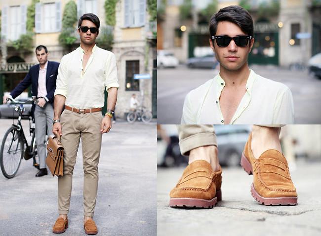Giày và thắt lưng