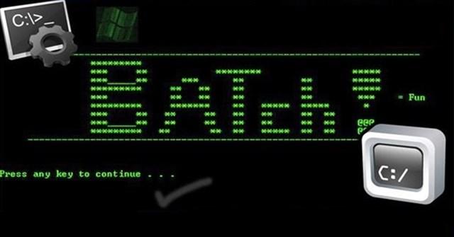 Hướng dẫn tạo và sử dụng file BAT trên Windows - Quantrimang com