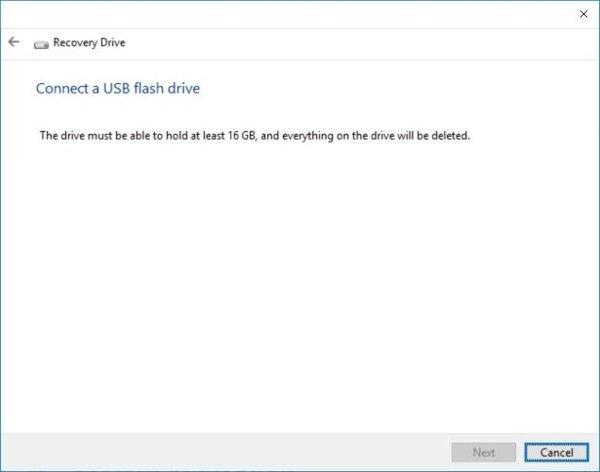 Kết nối USB vào Windows10