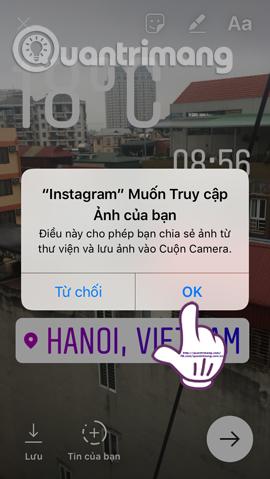 Hướng dẫn chèn sticker check in vị trí trên Instagram - Ảnh minh hoạ 12