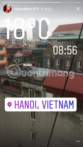 Hướng dẫn chèn sticker check in vị trí trên Instagram - Ảnh minh hoạ 15