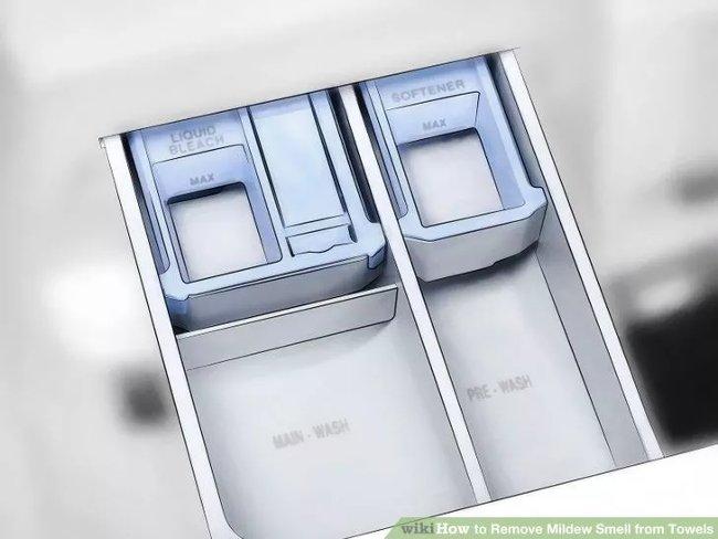 Vệ sinh ngăn chứa xà phòng giặt