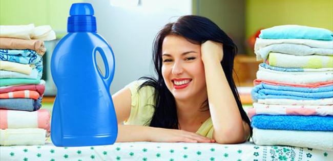 Dùng nước xả vải một lần xả