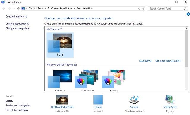 5 Dark Themes dành cho Windows 10 - Quantrimang com