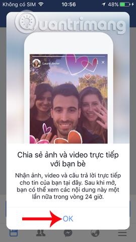 Tính năng mới Story trên Facebook