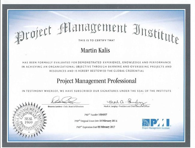 Chứng chỉ PMP - Project Management Professional
