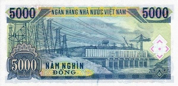 Tờ tiền năm nghìn đồng