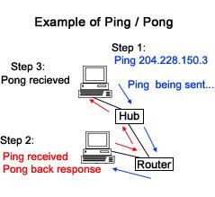 Ví dụ về Ping