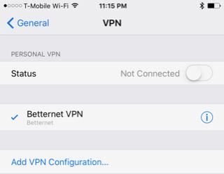 Cài VPN