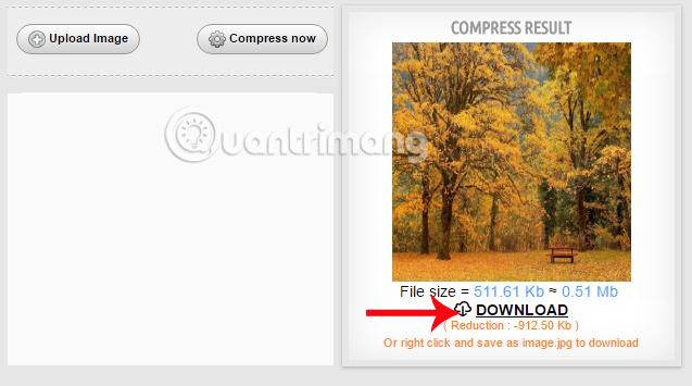 Tải hình ảnh nén trên Compressnow