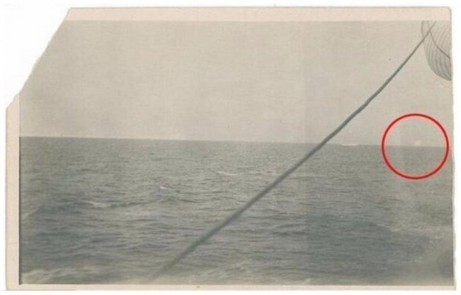 This is a photo of the iceberg that the legendary Titanic hit.