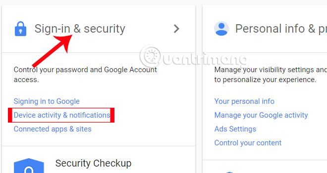 Đăng nhập tài khoản Google