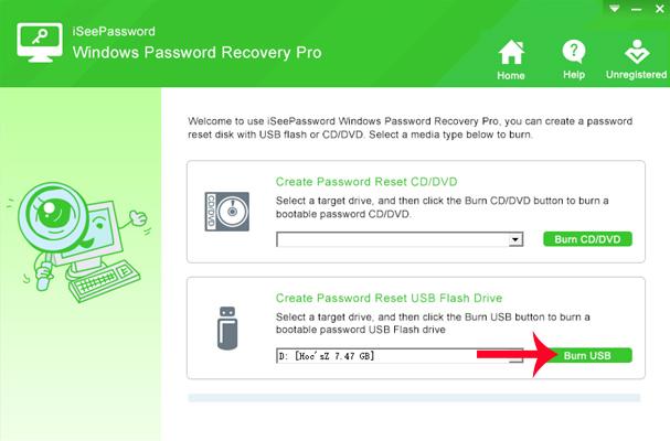 Reset mật khẩu Windows qua USB