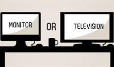 Nên sử dụng HDTV thay cho màn hình máy tính hay không?