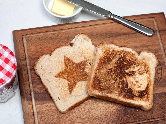 Ảnh bạn ở trên bánh mỳ nè