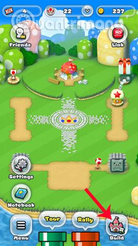 Xây dựng một vương quốc trong Super Mario Run