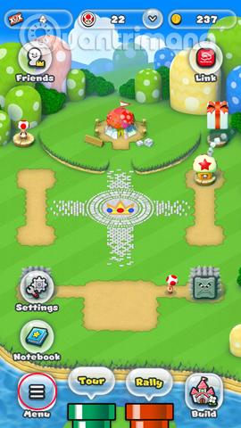 Lựa chọn tùy chọn là Super Mario Run