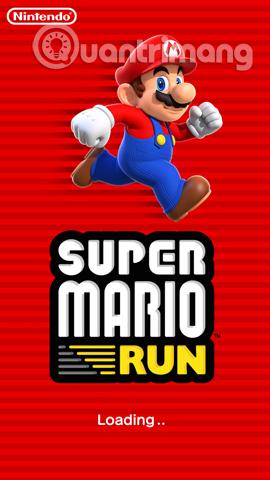 Bắt đầu chơi trò chơi Super Mario Run