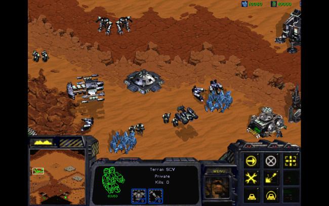 Quân Terran trong StarCraft 1998