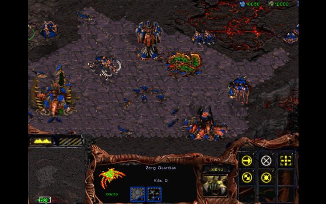 Quân Zerg trong StarCraft 1998