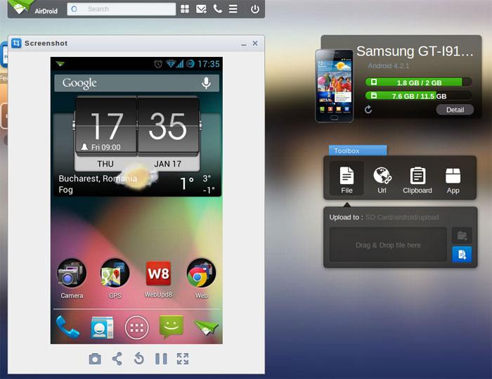 Các ứng dụng chuyển dữ liệu qua WiFi trên Android chuyên nghiệp