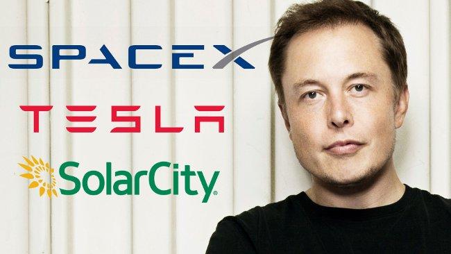 Elon Musk - người sáng lập ra Tesla, SpaceX và SolarCity