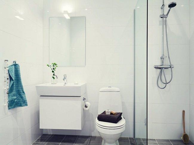 Thiết kế sáng tạo cho một phòng tắm nhỏ