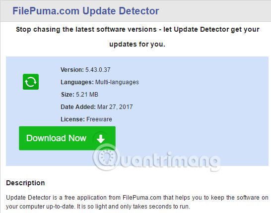 11 trang web tải miễn phí phần mềm an toàn - Quantrimang com
