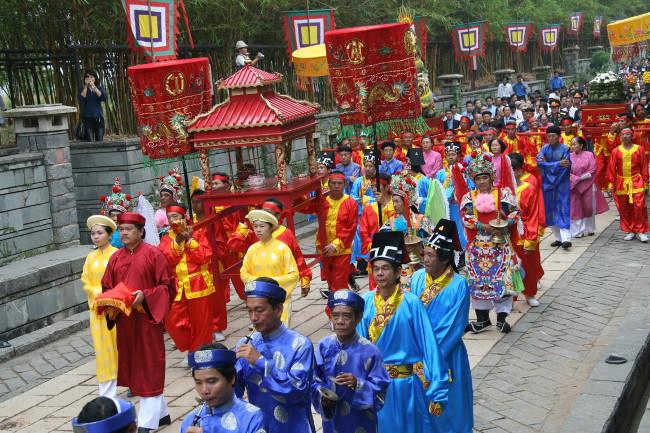 Nghi thức tế lễ giỗ tổ Hùng Vương