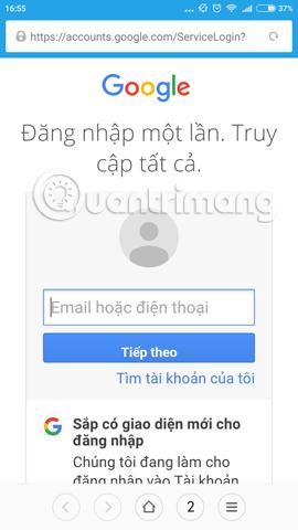 Tài khoản Google