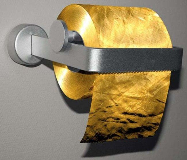 Cuộn giấy vệ sinh trị giá triệu đô