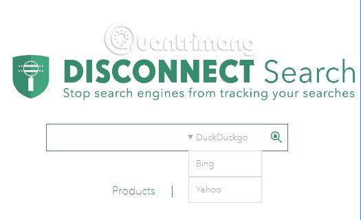 Công cụ tìm kiếm Disconnect Search