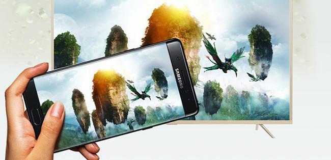 Chiếu màn hình điện thoại lên tivi qua Miracast