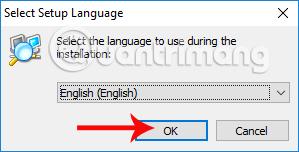 Ngôn ngữ cài đặt Advanced IP Scanner
