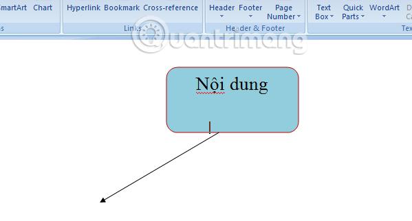 hướng dẫn cách vẽ sơ đồ trong word