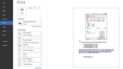 Với Microsoft Office Word 2007, 2010, 2013