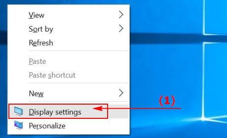 Đổi hình nền máy tính cho Windows 10
