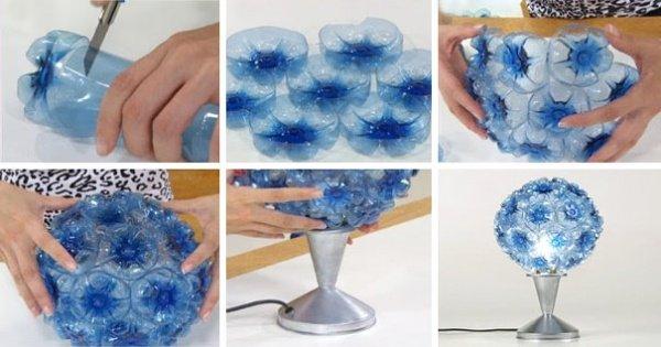 Tạo một chiếc đèn có hình dáng như bó hoa